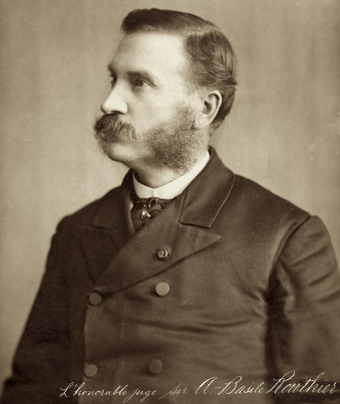 Adolphe-Basile Routhier, Composer French lyrics, O Canada