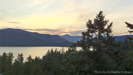 British Columbia Landscape. Photo by Katharine Holmes