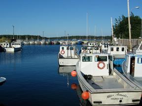 Nova Scotia Lobster Boats